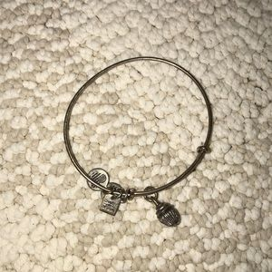 Alex and Ani Cupcake Charm Bracelet